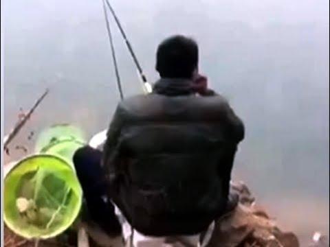 釣りの途中で油断してたら最悪の事態に