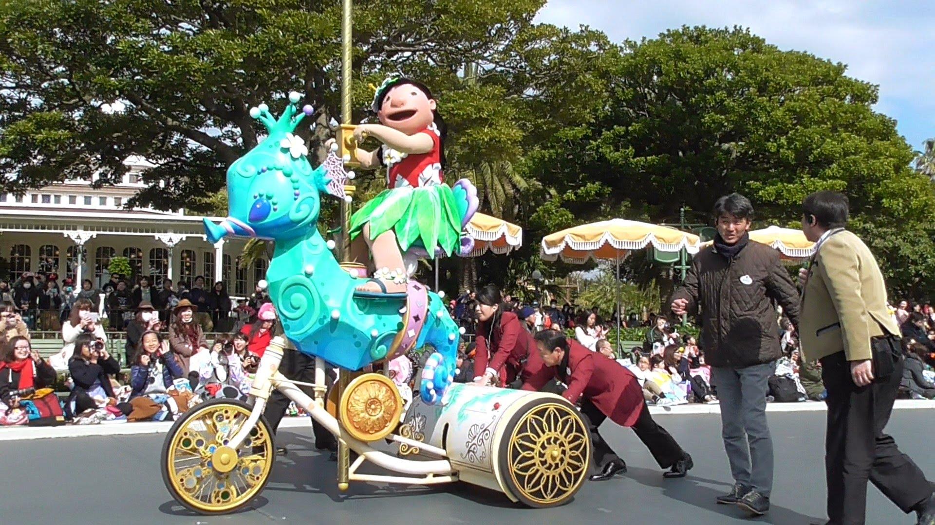 【ハプニング】ハピネスイズヒア リロにトラブル発生のため急遽パレードが一時停止!