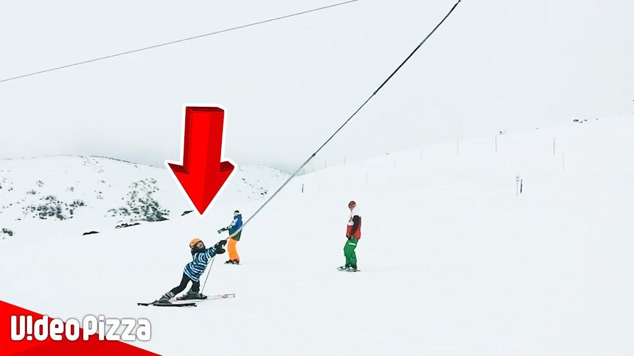 【事故】オリンピックでは見れないスキー場で起きた衝撃事故10選!【Video Pizza】
