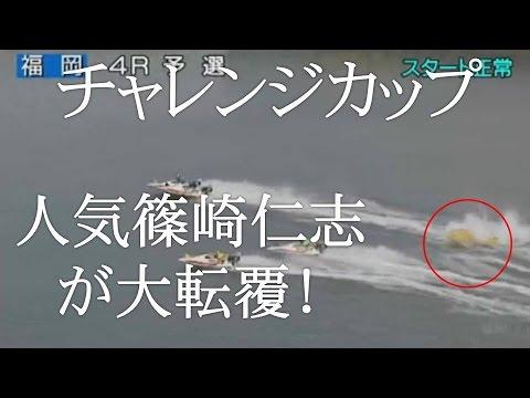 チャレンジカップで本命篠崎仁志が大転覆!!
