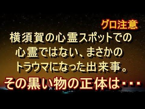 【修羅場 衝撃】【戦慄体験】※一部グロ注意※ 横須賀の心霊スポットでのトラウマになった出来事