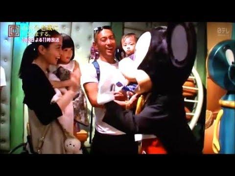 海老蔵さん麻央さん家族でディズニーランド 2014年10月