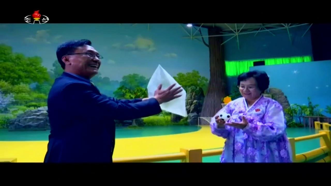 北朝鮮 「楽しいマジックの世界(2) (흥미있는 요슬의 세계)」 KCTV 2017/10/29 日本語字幕付き