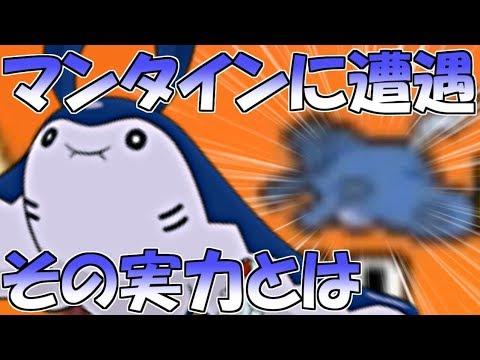 【ポケモンUSUM】レートでマンタインに遭遇した!その実力とは…【ウルトラサン・ウルトラムーン】Pokemon Ultra Sun And Ultra Moon