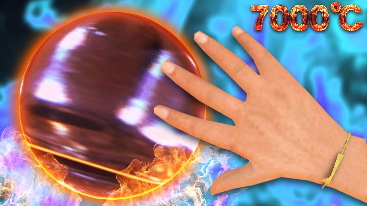 7000℃の鉄球に素手で触ってみた – GMOD –