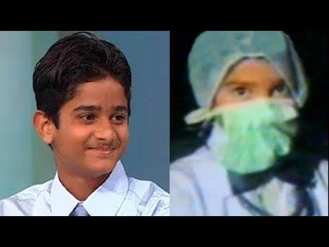 【衝撃】7歳で外科手術!?世界の超天才児 4選