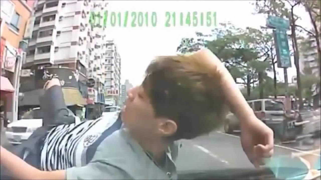 【ドラレコ特集】DQN当たり屋が失敗しまくりwww