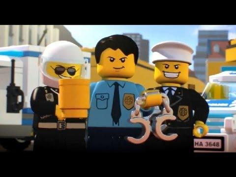 【Movie】LEGO City Crooks Everywhere レゴシティ ドロボウ封鎖大作戦 – 第4回