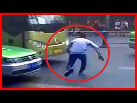 【衝撃映像】【閲覧注意】【当たり屋】世界のドライブレコーダーが捉えた事故映像集06中国当たり屋4