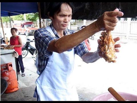 【衝撃】タイのびっくり人間!から揚げを素手で揚げる?嘘のような本当の話【驚愕】