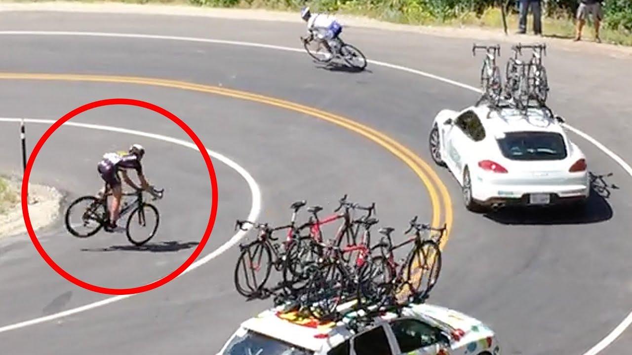 時速80kmで車に衝突!ロードレースの事故映像まとめ【Video Pizza】