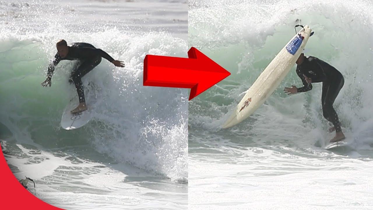 【事故】サーフィン中に起きたハプニング映像【Video Pizza】