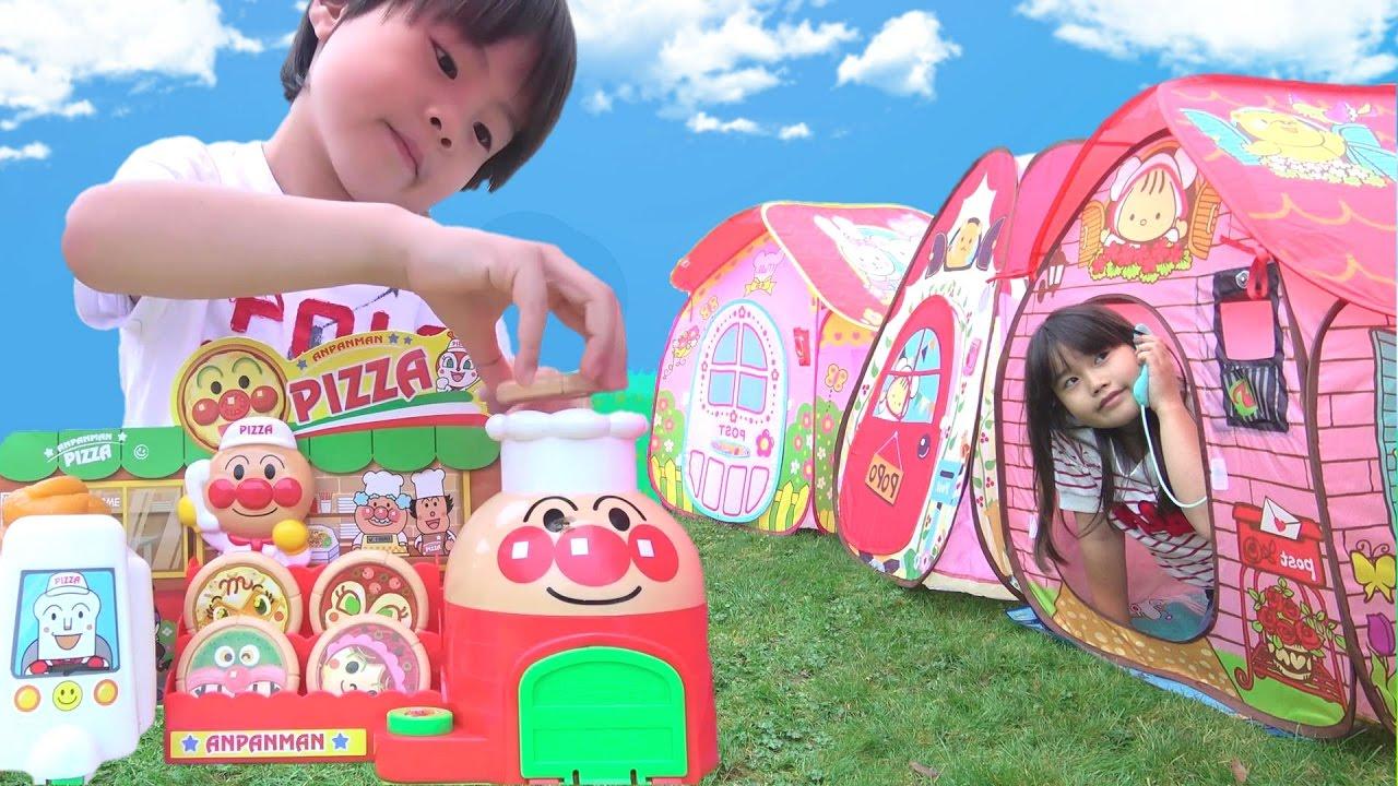アンパンマン おもちゃ人気動画をまとめて連続再生!! こうくんねみちゃん
