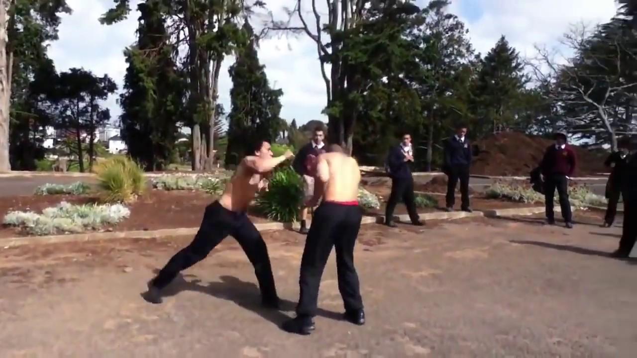 南米旅行中に素人の喧嘩に遭遇