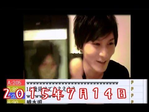 うんこちゃん、ギャル男時代の写真を晒す【2015/07/14】