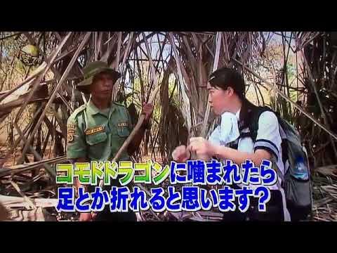 イッテQ イモト 噛まれると死!!!! 唾液最強兵器!!!!