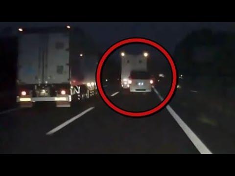 【衝撃】DQNハイエースがトラックを煽った結末がこちらwww