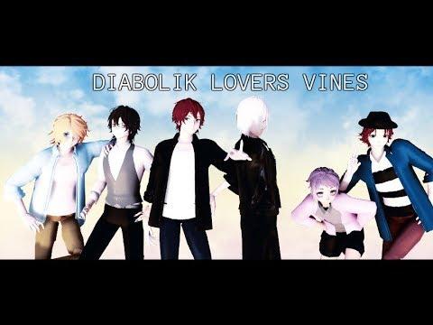 【MMD】DIABOLIK LOVERS【Mini Vine Video】【Thanks For 3k+ Subs】