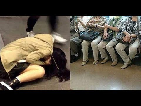【騒然】席を譲ってもらえなかった女子高生→数分後、とんでもないことに・・・