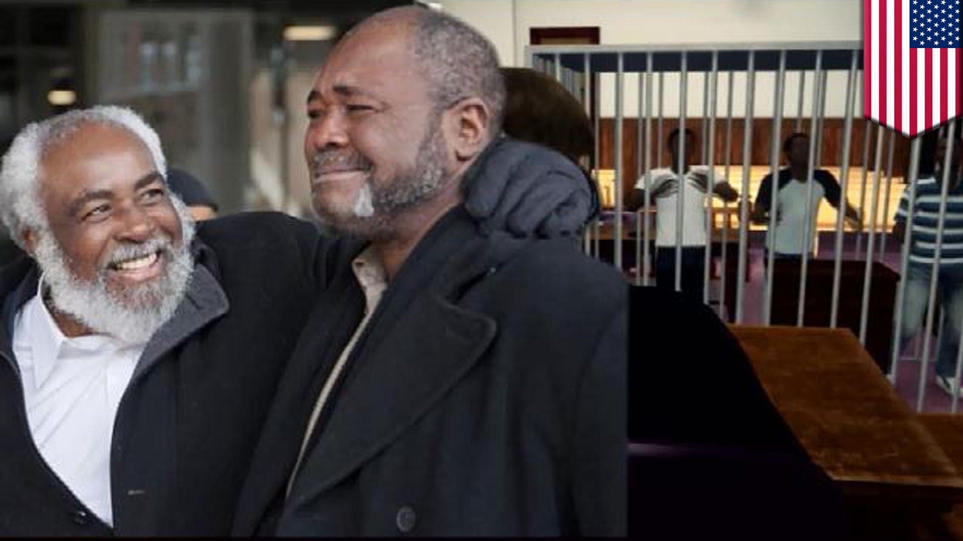 嘘の証言で39年間も服役…冤罪の男性2人釈放