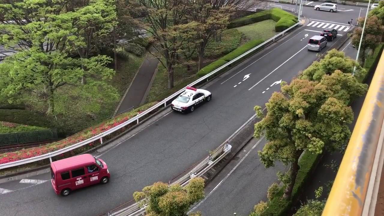 【動画】【投稿】パトカーのせこいネズミ取りの一部始終!! POLICE CAR IN JAPAN!!