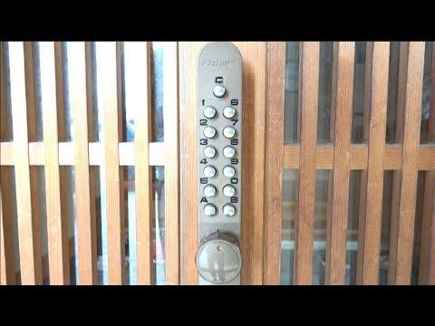 家の鍵がパスワードになってた
