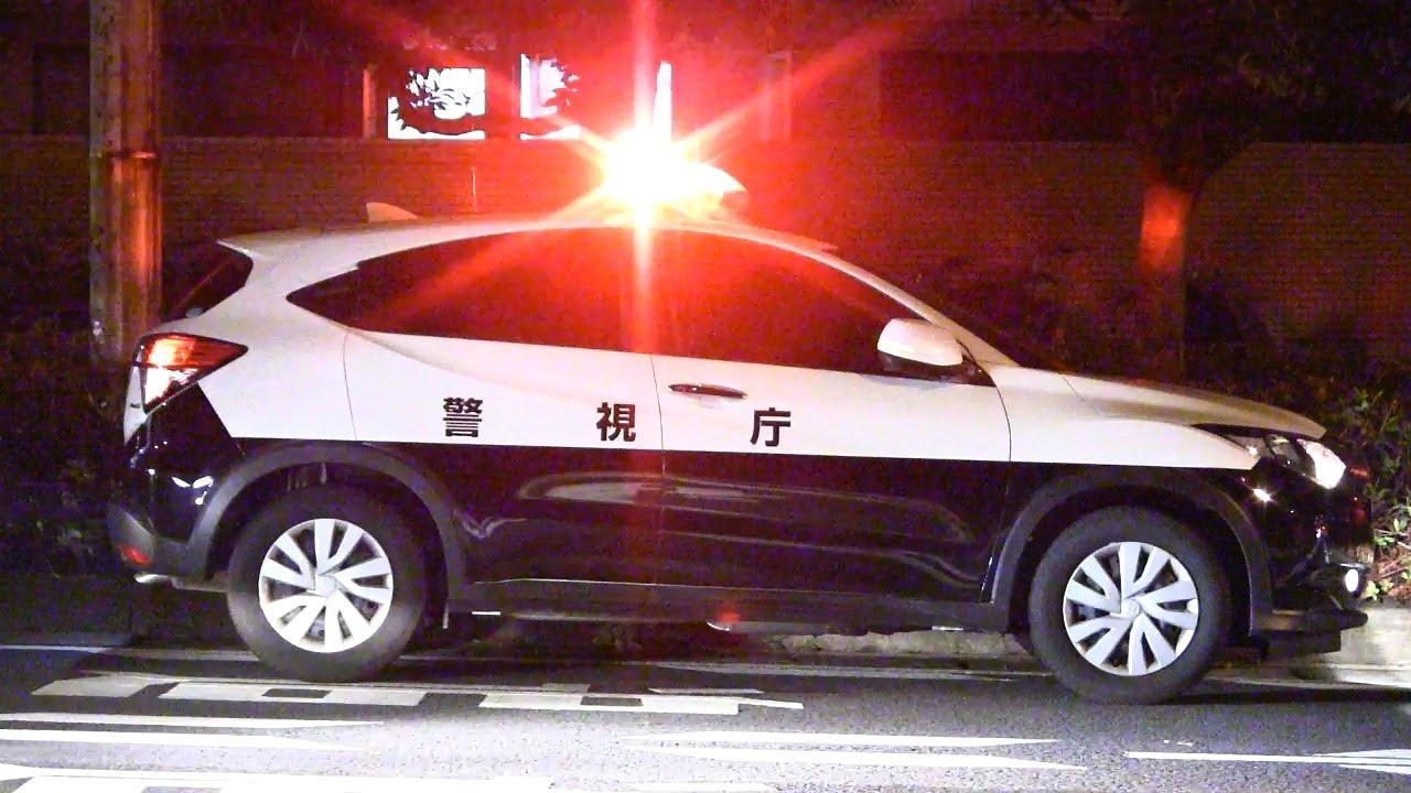 日本に4台のみ?超レアなパトカーを発見!これは珍しい… 警視庁ヴェゼル白黒パトカー Japanese Police Car HONDA VEZEL Patrol Car