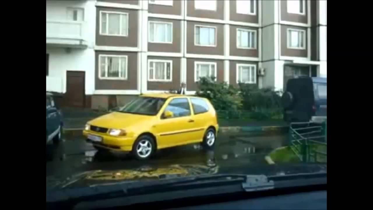話題のハプニング集 おもしろ動画 車の運転事故クラッシュ