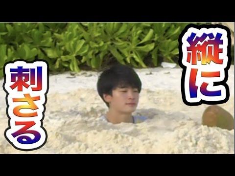 砂浜に縦に埋まったら抜け出す事は不可能!?【危険】