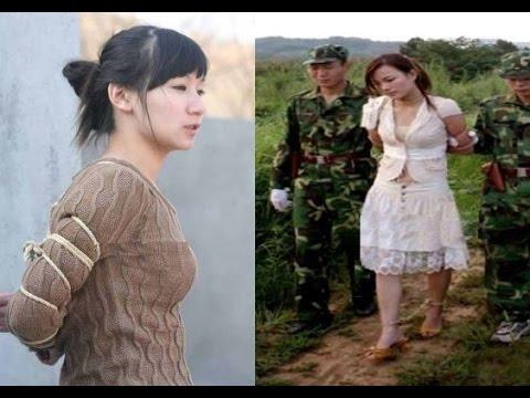 【閲覧注意】人生最後の瞬間を刑務所で迎えた美人中国人達に世界が震えた!衝撃写真 2【驚愕】