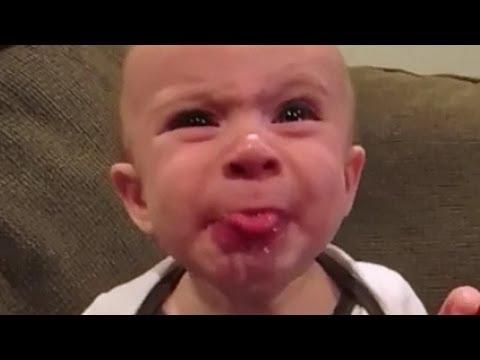 【衝撃】赤ちゃんおもしろ☆この表情から、何があったかわかる人~???