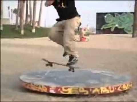☆Skateboard☆ スケボー超人 スーパープレイ ありえない技連発