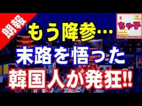 【韓国】もう降参.『これ以上日本と喧嘩するのは限界だ!!!』末路を悟った韓国人が発狂連発!原因は〇〇パフォーマンスwww