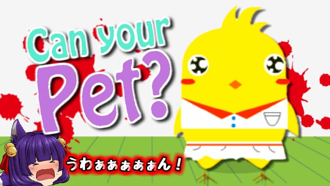【ゆっくり実況】うp主、大号泣!?ヒヨコを襲うヤバすぎる悲劇とは…!!【Can Your Pet?】