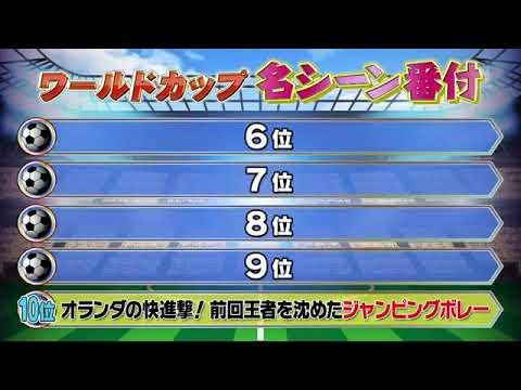 【FIFA】ワールドカップ 歴史に残る名シーンランキング 6位〜10位