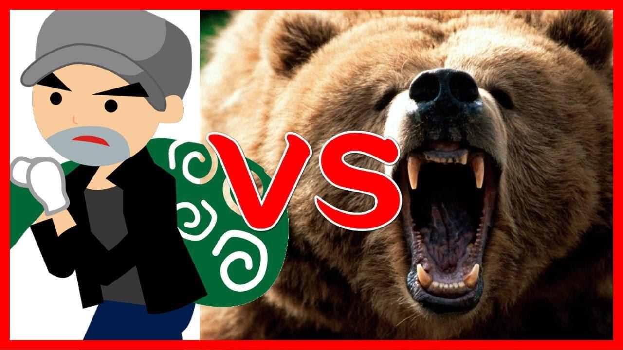 泥棒とクマが対決した結果!