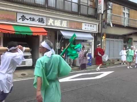 湯村温泉秋祭り・ケンカ神輿(みこし)