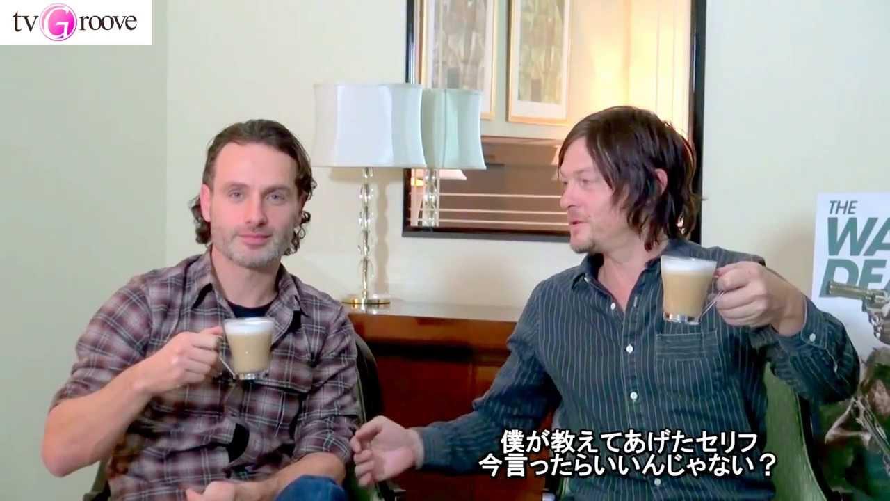 「ウォーキング・デッド」ノーマンがアンドリューにデタラメな日本語を教えて見事にひっかかる