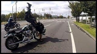 【自業自得】バイクでDQN運転した結果…