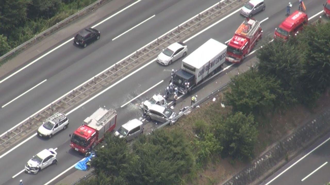 圏央道で6台絡む事故 埼玉、1人重傷