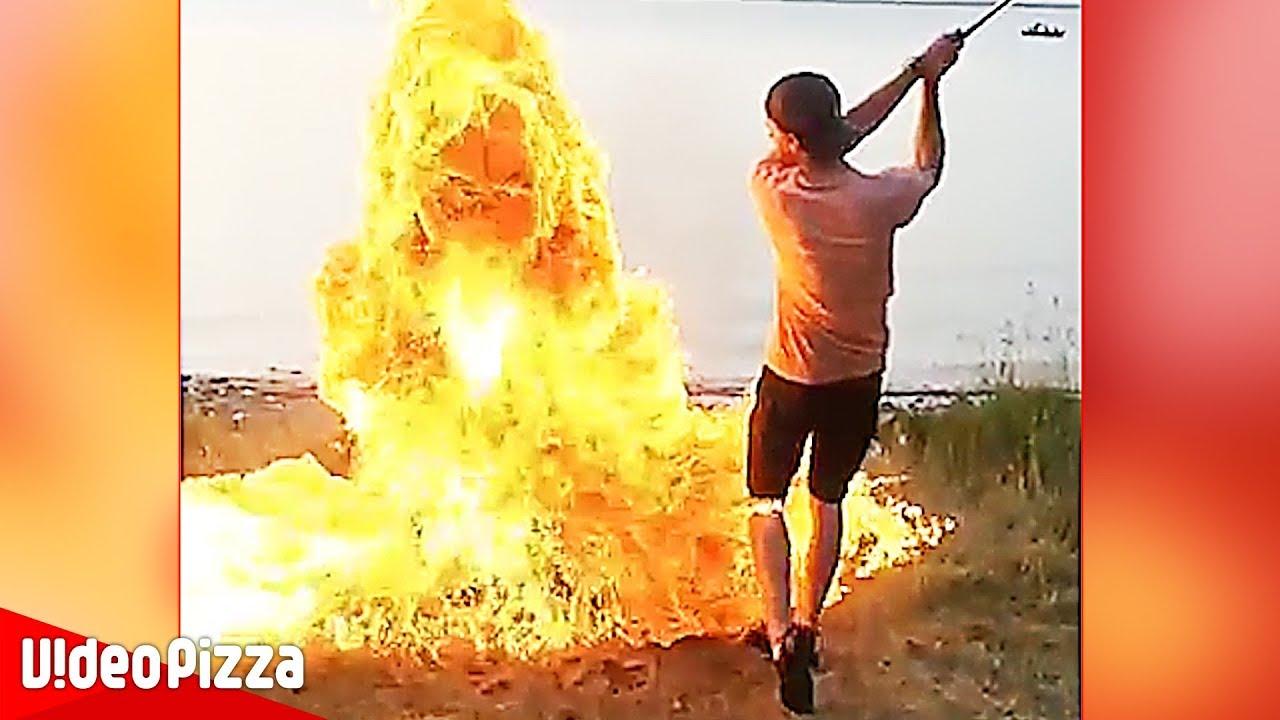【危険】大爆発すぎるw海外の危険動画まとめ【Video Pizza】