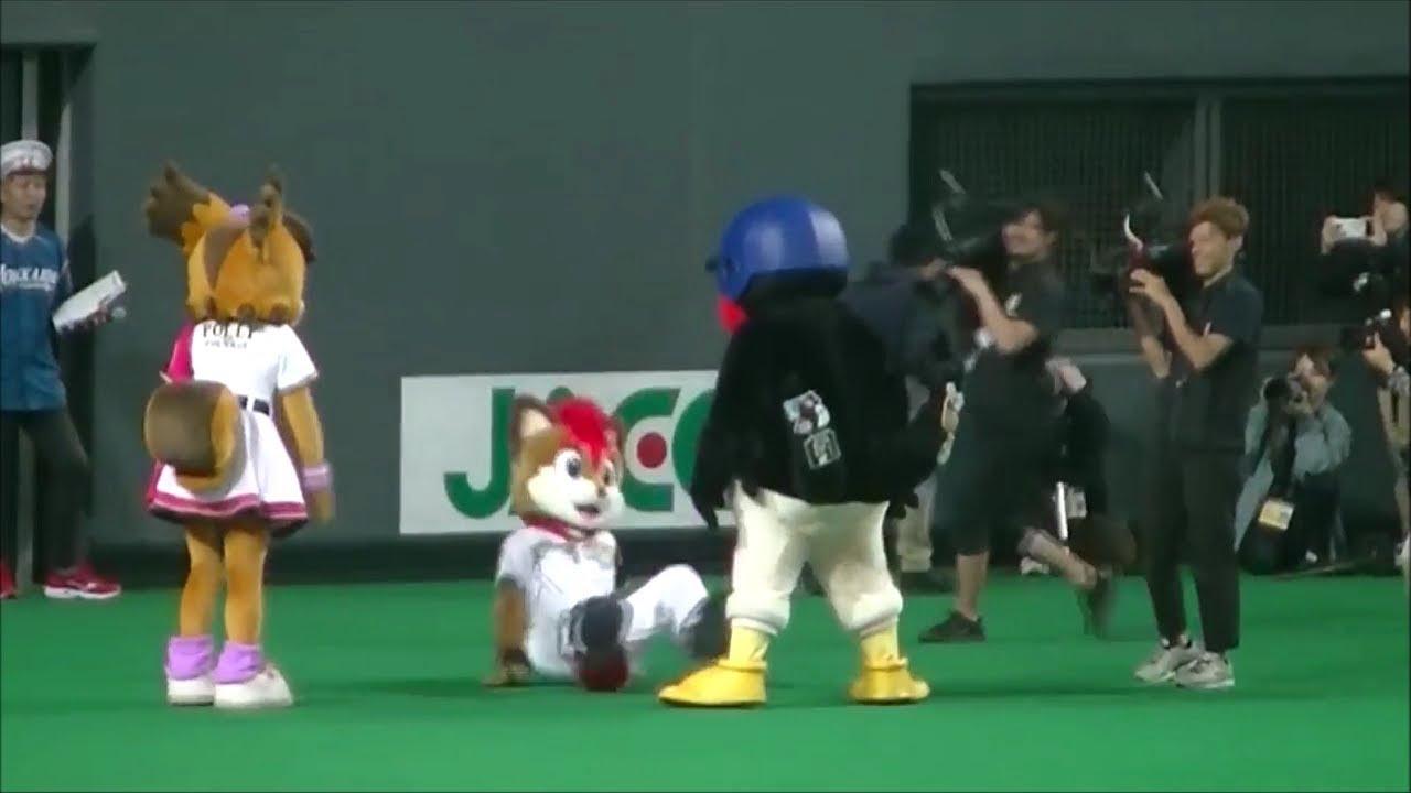 【つば九郎】他球団のマスコットにもファンにも手厳しいつば九郎様【かわいい】
