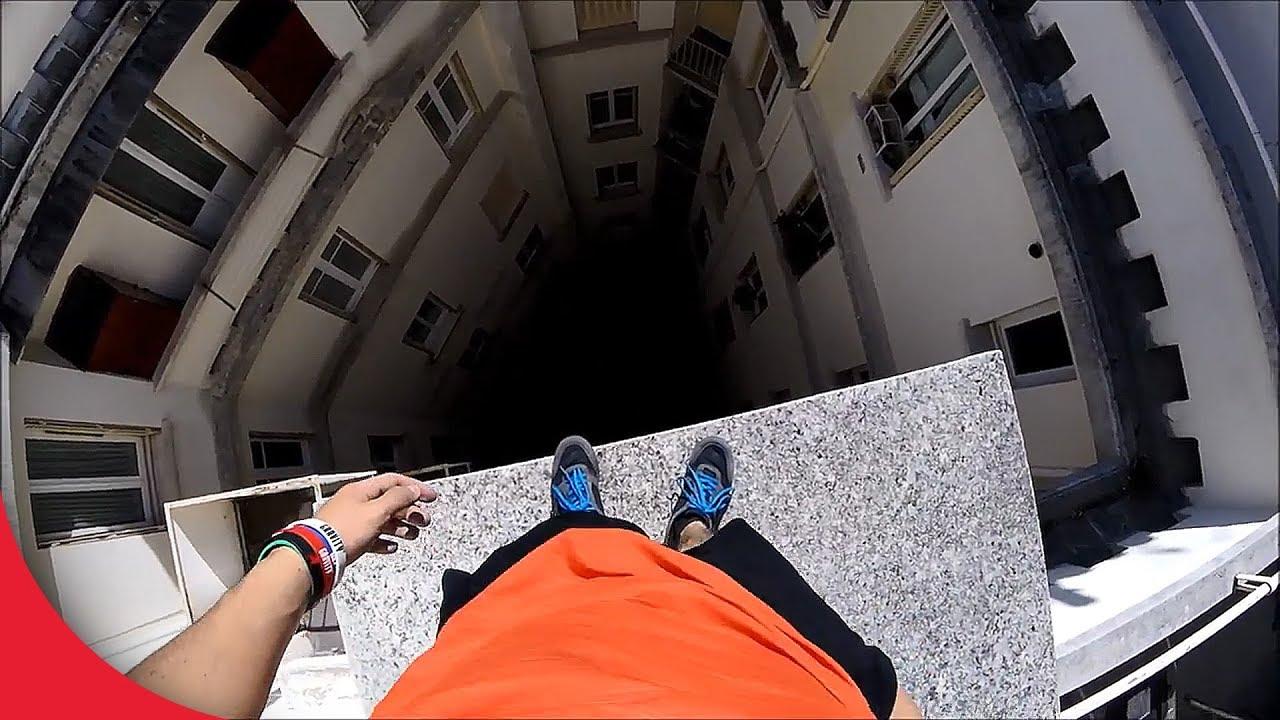 【閲覧注意】落ちたら死ぬ超高所でパルクールする凄技まとめ【Video Pizza】