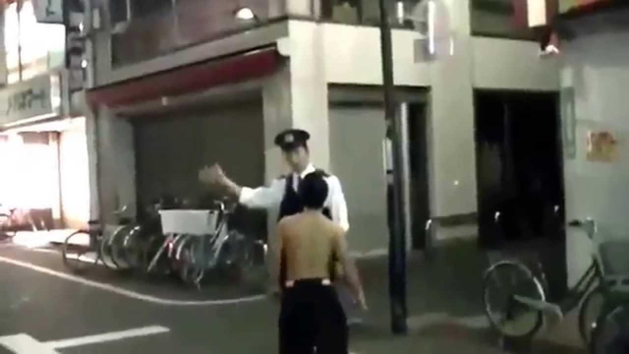 【きちがいDQN】警察官にケンカ売るヤンキー 馬鹿