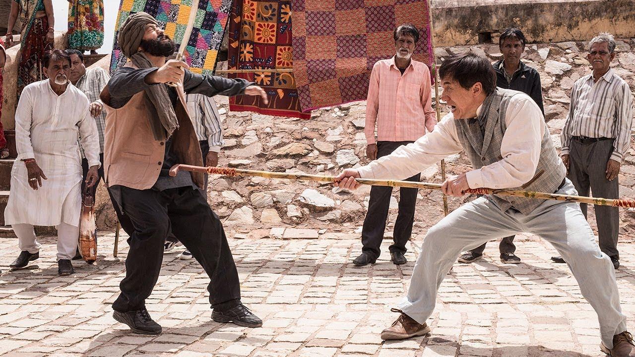 ジャッキー・チェン、インドの市場でカンフー・アクション披露 映画「カンフー・ヨガ」特別映像