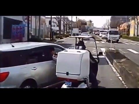 【ドラレコ】ヤクザ DQNが車から降りてきた動画集 【喧嘩】