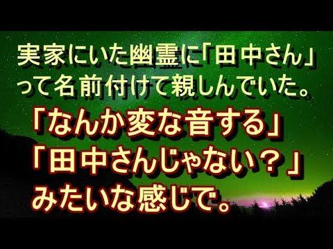【修羅場 衝撃】【恐怖系 面白】実家にいた幽霊の話を聞いて。幽霊って思ってると怖いから「田中さん」って名前付けて親しみを持とうとしていたのよ。