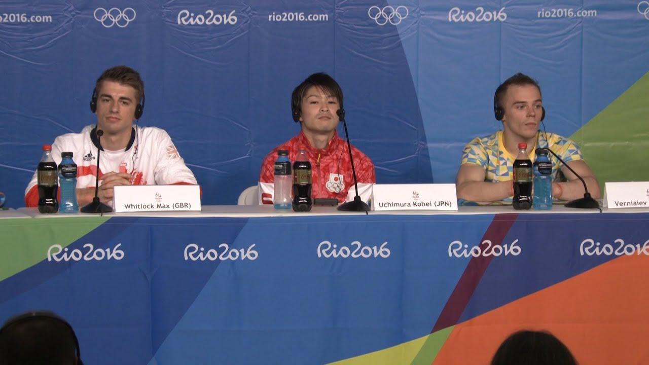 【NHKリオ】外国人記者のいじわる質問に「ムダな質問」 怒ったライバル 体操個人総合