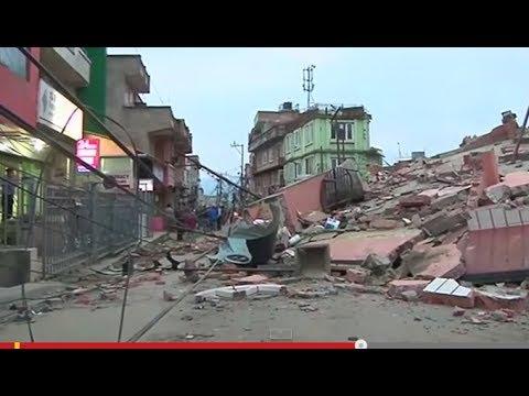 [衝撃]カメラが捉えた 海外 巨大地震の破壊力 自然災害 天変地異
