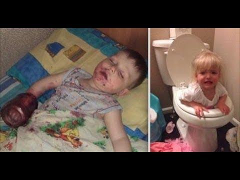 [面白画像]子供から目を離すとこうなる24枚の証拠写真